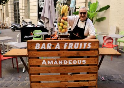 Bar à fruit Amandeous Montpellier