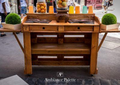 BAr à fruit Amandeous Montpellier par Ambiance Palette (4)