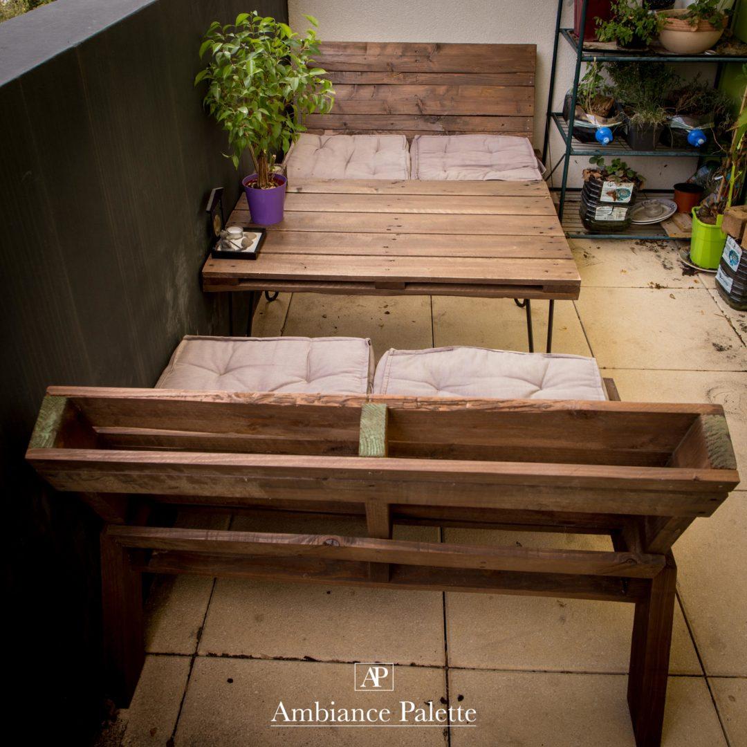 Ripaton Pieds De Table salon de jardin #2 - ambiance-palette