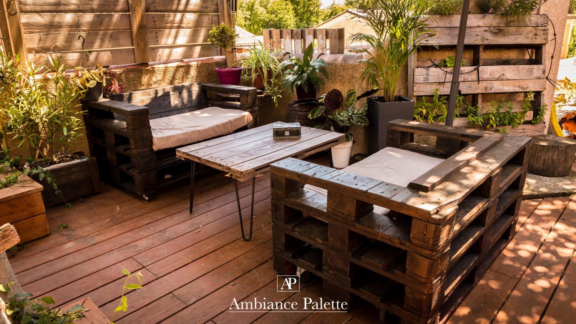 Salon de jardin #1 - Ambiance-Palette