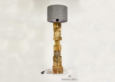 Lampe en bois #1