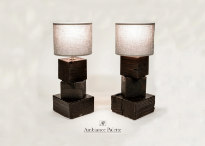 Lampes en bois #3