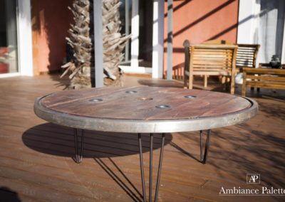Table basse touret LOFT par Ambiance Palette(1)