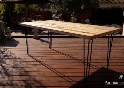Table sejour 180x90 par Ambiance palette (5)