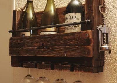 Cave à vin murale, etagere à bouteilles en bois par Ambiance Palette (10)