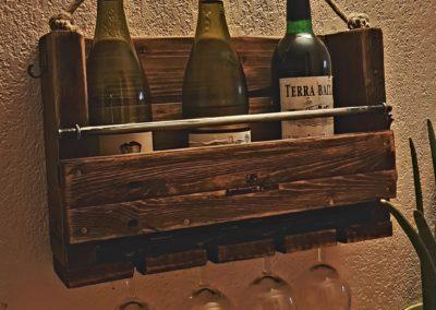 Cave à vin murale, etagere à bouteilles en bois par Ambiance Palette (9)