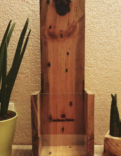 Décapsuleur de bar, de comptoir, en bois par Ambiance Palette (8)