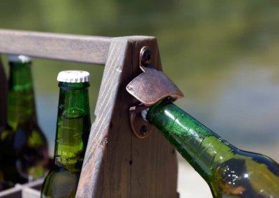 Caddy à Bière décapsuleur
