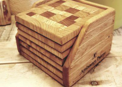 dessous de verres, sous bock en bois par Ambiance Palette (6)